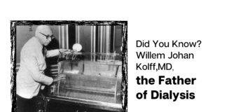Willem J Kolff, MD - Inventor of Dialysis Machine