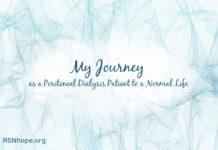 Peritoneal Dialysis Normal Life