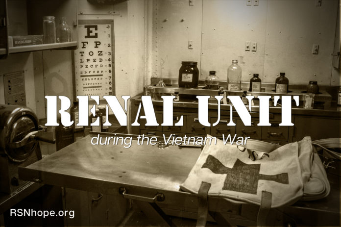 Renal Unit During the Vietnam War