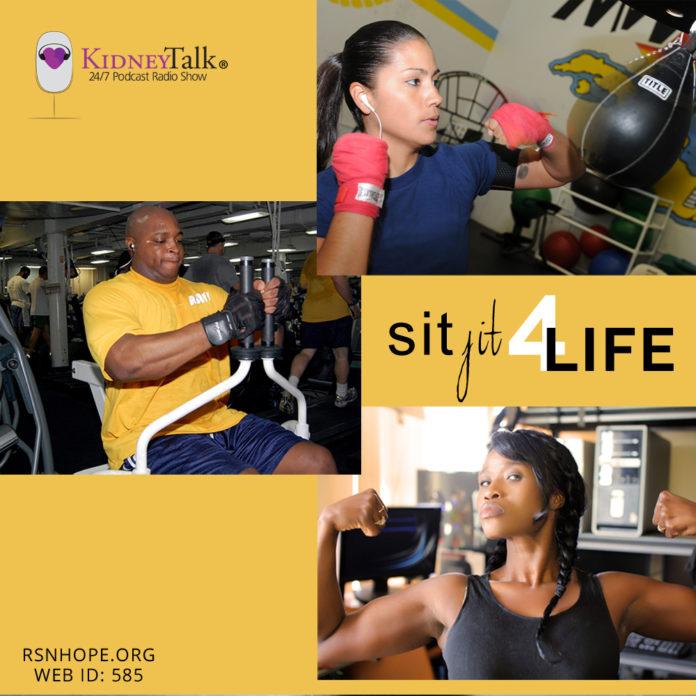 SitFit - kidney talk