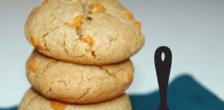 Carmel-Filled Butterscotch Cookies