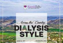 home hemodialysis - travel dialysis - kidneytalk - kidney talks