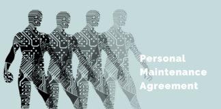 Personal Maintenance Agreement