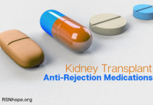 Anti-Rejection Medications for the Kidney Transplant Patient