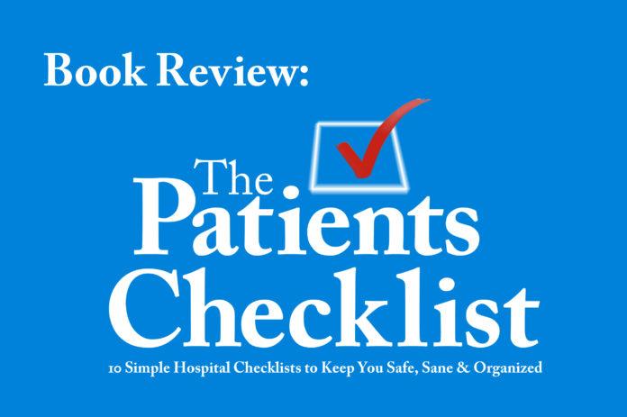 hospital checklist - the patients checklist - health library