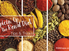 Spicing Up the Renal Diet