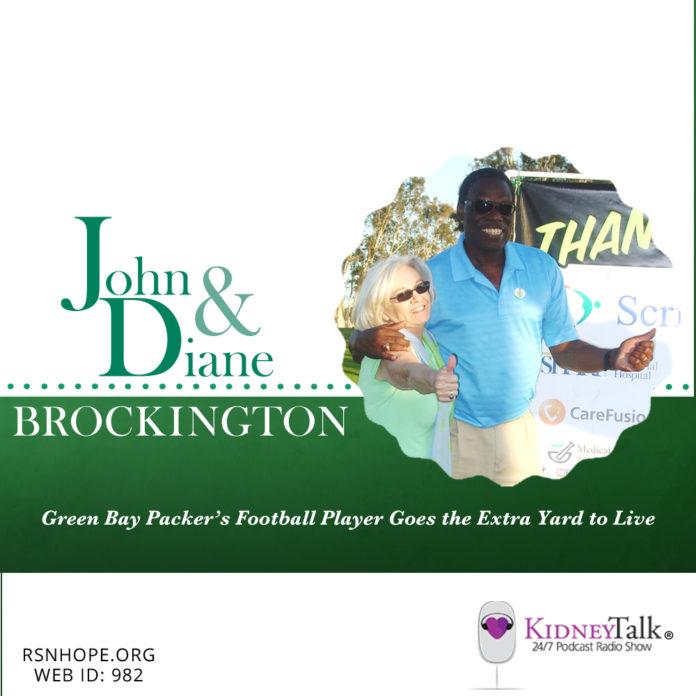 Green-Bay-Packer-john-brockington-Kidney-Talk