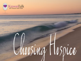 KidneyTalk Choosing Hospice Celeste Castillo Lee