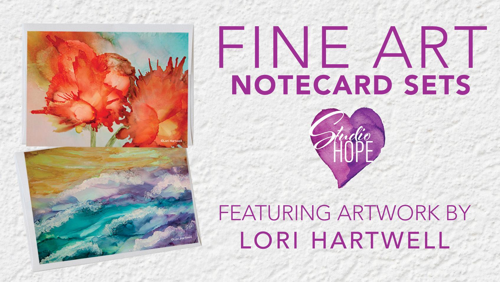 Fine Art Note Cards - Lori Hartwell