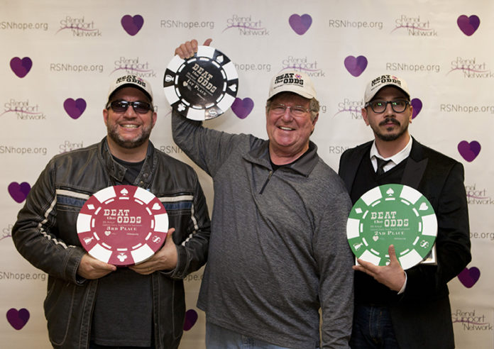 8th Annual Texas Hold'em Tournament Winners: 1st Place Harvey Wells, 2nd Place Dean Ronalds, 3rd Place Jimmy Delle Valle