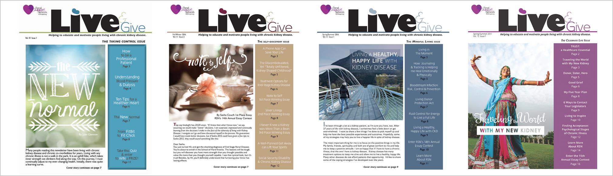 RSN-membership-Live&Give kidney newsletter