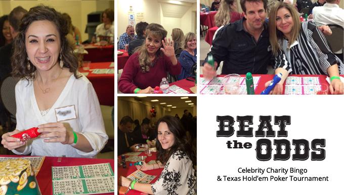 Celebrity bingo and texas hold'em poker tournament - celebrity poker tournament