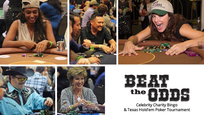 Celebrity Bingo and Texas Hold'm Poker Torunament