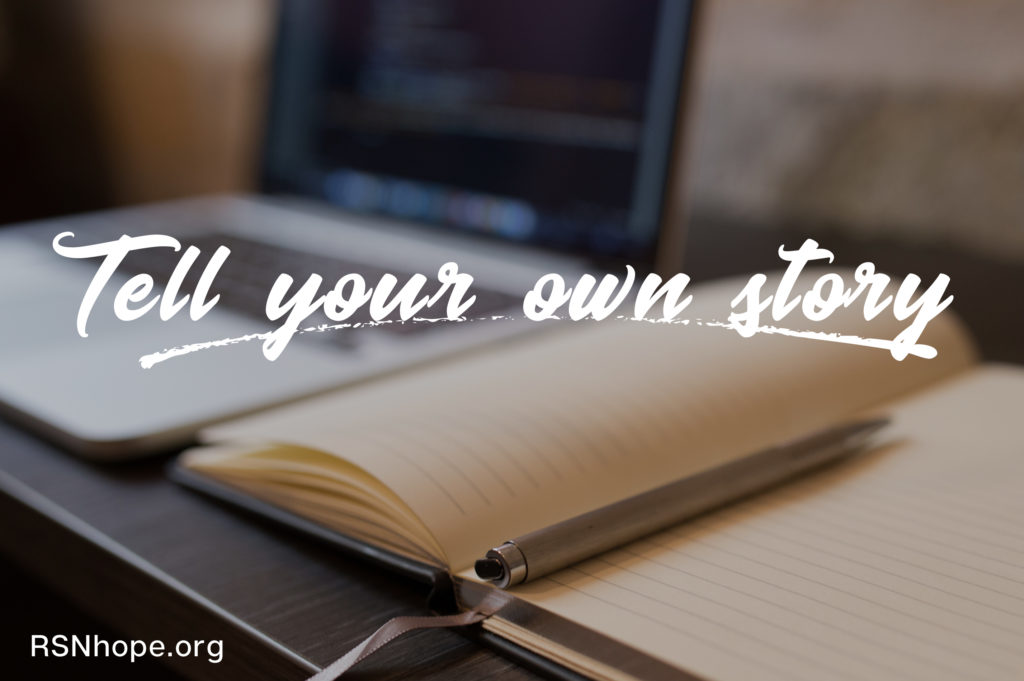 Tell your own story - write for us