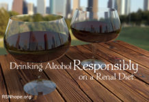 Drinking Alcohol Responsibly on a Renal Diet