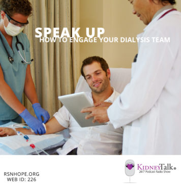 Engage Your Dialysis Team - Kidney Talk