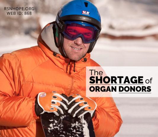 Shortage of Organ Donors - Chris Klug - kidney talk