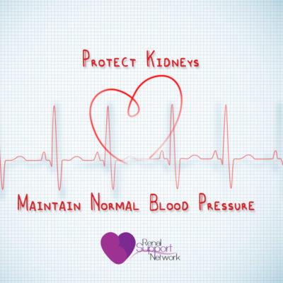 Protect kidneys - Blood-pressure