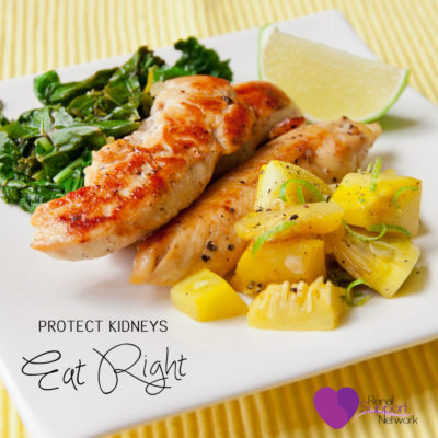 Protect kidneys - Eat Healthy