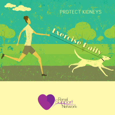 protect kidneys - exercise daily