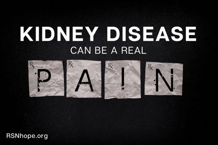 Opioids and kidney disease