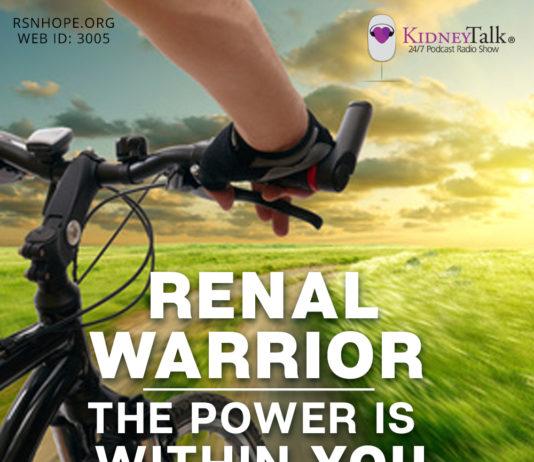 Wilson Du -Renal Warrior - Losing Weight - kidney transplant