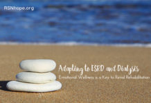 Adapting to end stage kidney disease and Dialysis