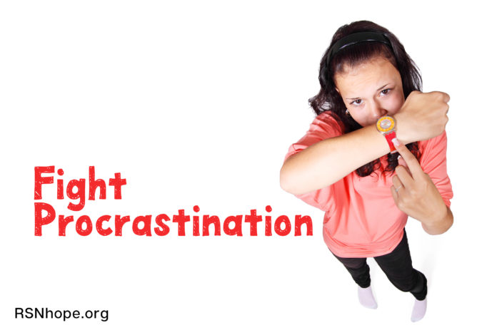 Fight Procrastination