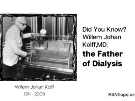Willem J Kolff, MD - Inventor of Dialysis Machine