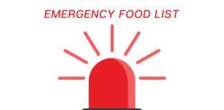 Emergency Food List-Preparing for Emergencies