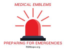 Medical Emblems - Preparing for Emergencies