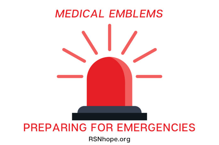 Medical Emblems - Preparing for Emergencies