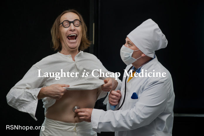 laughter is cheap medicine