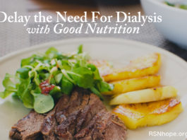 Delay the Need For Dialysis With Good Nutrition