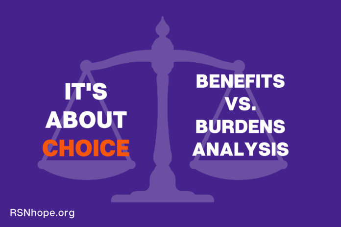 Dialysis It's About Choice: A Benefits vs. Burdens Analysis