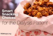 Smart Snacking Choices for the Dialysis Patient