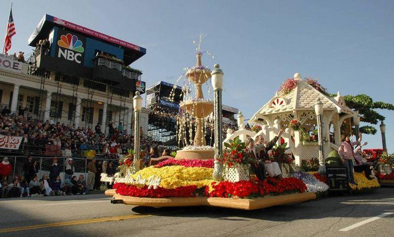 Donate Life Rose Parade Float