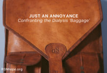 Confronting the Dialysis Baggage positive attitude