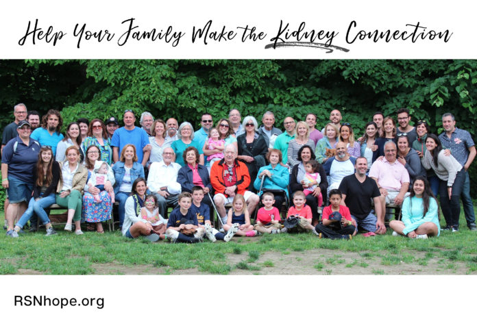 Help Your Family Make the Kidney Connection