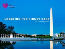 Lobbying for Kidney Care