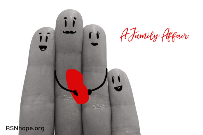Transplant - a family affair
