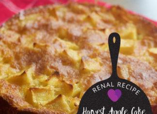 Renal Recipe- Apple Cake