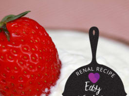 Renal Recipe-Easy Fruit Dip
