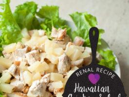 Renal Recipe-Hawaiian Chicken Salad