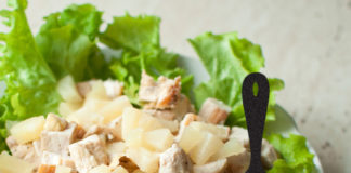 Renal Recipe-Hawaiian Chicken Salad