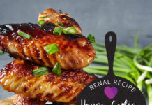 Renal Recipe-Honey Garlic Chicken