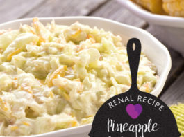 Renal Recipe-Pineapple Coleslaw