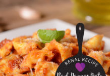Renal Recipe-Roasted Red Pepper Pesto
