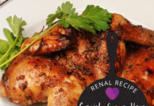 Renal Recipe-Rock Cornish Gaem hens