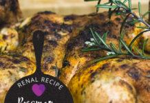 Renal Recipe-Rosemary Chicken